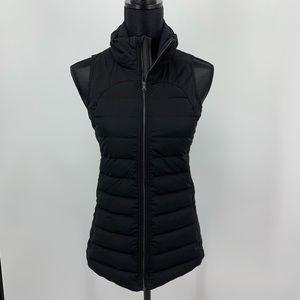 Lululemon Black Fluffed Up Vest